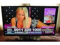 51 samsung Plasma model no ps51d495 3d and freeview 1080p