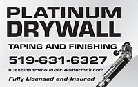 drywall and drywall taping