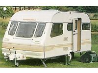 5 Berth caravan with full awning and extras must go asap