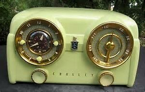CROSLEY ANTIQUE VINTAGE DASHBOARD RADIOS