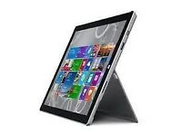 Surface pro 3, i5 cpu, 4gb, 256gb ssd complete bundle
