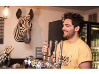 ***Full-time Bar Back - Christmas Temporary role - Racks Bar & Kitchen, Clifton, Bristol***