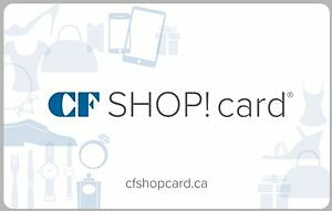 Selling a $75 Fairview mall Kitchener gift card