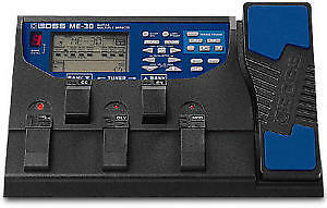 Pedales Multiple effects BOSS ME-30 pour Guitare