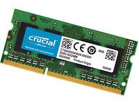 laptop memory crucial 1x8gb and Hynix 4GB X2