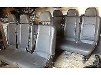 Mercedes Vito/Viano W639 2004 -2010 Rear bench seat and Rear 2 + 1 with seat belts