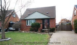 Updated 1 1/2 storey home is Riverside