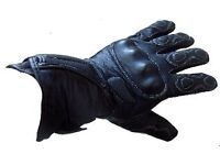 New Rksports 0024 Leather Motorcycle Gloves