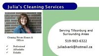 Julia's Cleaning Services