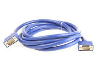 High spec VGA cable for TVs,PC base units,monitors,printers,photocopiers,etc...only £5 or 3 for £10