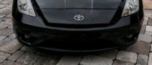 Toyota celica 03-05 black front bumper