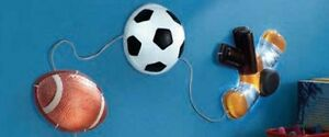 NEW: Sport Wall Light (Ideal for decorate kid's room)
