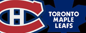 LEAFS VS HABS IN MONTREAL ON OCTOBER 29TH AND MORE!!