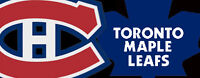 LEAFS AGAINST CANADIENS IN MONTREAL ON OCTOBER 24TH 2015!
