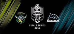 2 x Canberra Raiders vs Penrith Panthers Semi Final Tickets Kingston South Canberra Preview