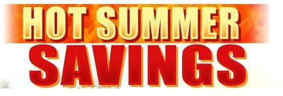 Grumpy's Summer Savings Event