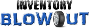 USED + NEW TIRE BLOWOUT! MUST BE SOLD! MASSIVE SAVINGS!
