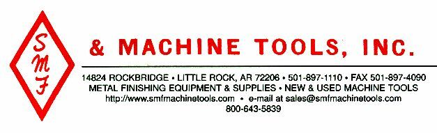 Smf Machine tools inc