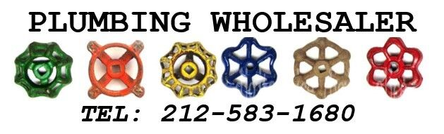 PLUMB WHOLESALER 212-583-1680