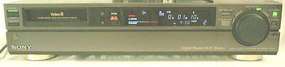 Sony EV-S550 Video8 8mm Video 8 PCM HiFi Stereo Player Recorder VCR Deck EX