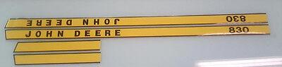 John Deere 830 Hood Decals