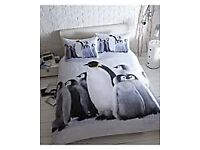 thru the lens penguin bedding