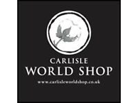 Love Fair Trade? Volunteer at Carlisle World Shop!