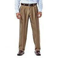 "Pants Trousers for MATURE MEN Loose Fit Size 35"" 36"" PLEATED UnPleated Office DressPants Slacks"