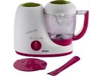 Beaba cook baby steamer cooker and blender