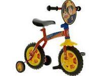 fireman sam 10inch training bike used once