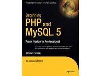 Beginning PHP and MySQL 5, 2nd Edition , W. Jason Gilmore, Apress