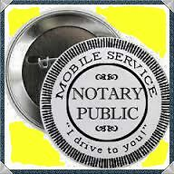 Mobile Notary Public - I will come to you