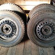 2 sets snow tires/rims