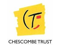 Chescombe Trust is looking for support workers full time and part time and night waking staff.
