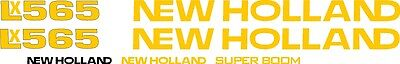 New Holland Lx565 Skid Steer Lx 565 Replacement Decal Sticker Kit Made In Usa