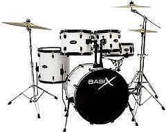 Basix Lacquered Birch Drum Kit Victoria Park Victoria Park Area Preview