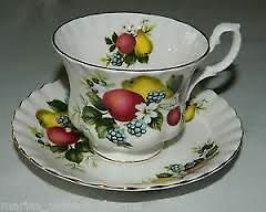 Royal Albert Fruit Motif Cup and Saucer