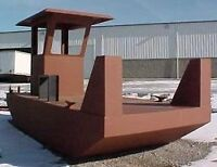 Barges. Sectional barges