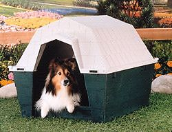 DOG HOUSE - paid $119 new. Smaller breed size
