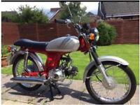 Honda SS50 Motorbike Moped