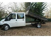 2008 58 Ford Transit Tipper LWB Low Mileage 31k Ex Council
