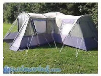 Large family tent sleeps 8 (Aztec Falcon) metal framed good condition