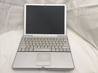 "TWO Apple Powerbooks (12"", 2005) for spares or repair only"