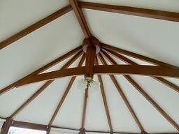 Complete hardwood conservatory