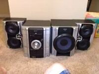 500watt Sony stereo with independent sub
