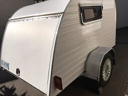 Teardrop Camper: wired, and fit out for storage ability ....... Midway Point Sorell Area Preview