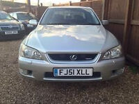lexus is200 £1000 mot till feb 22 2017 lpg coverted with recipt and service history