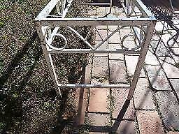 ORNATE WEATHERED SOLID STEEL LOW TABLE FRAME Queanbeyan Queanbeyan Area Preview