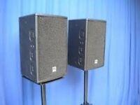 HK Audio Premium Pro 8a Powered speakers x2