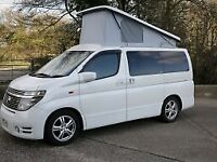 2003 Pearl White Nissan Elgrand Campervan 3.5 Automatic